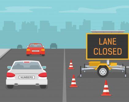 Burbank Gate Exit Lane Closed November 30 – December 4