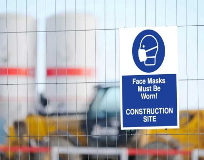 Concerned about COVID-19 safety measures at a construction site?